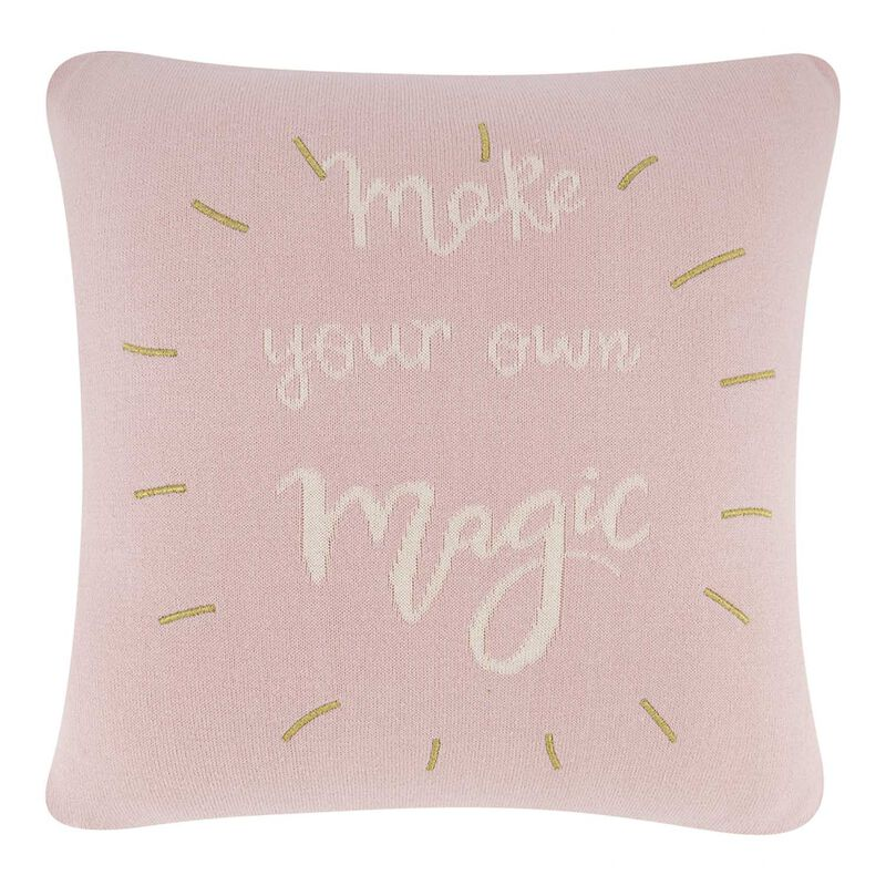 Graphic Magic Cushion -  palepink