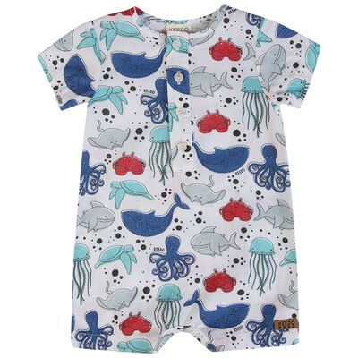 Baby Boys Chris Sea Romper