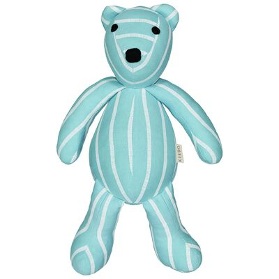 Boys Blue Stripe Small Bear