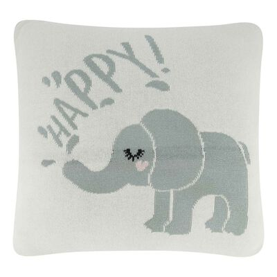Square Elephant Cushion