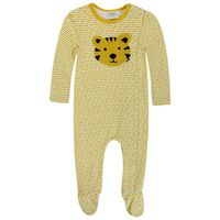 Baby Boy Leo Stripe Grow -  eggyellow