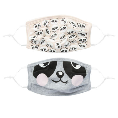 Kids Keedmask Panda 2-Pack Toggle Masks