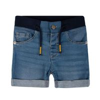 Baby Boys James Denim Shorts -  blue