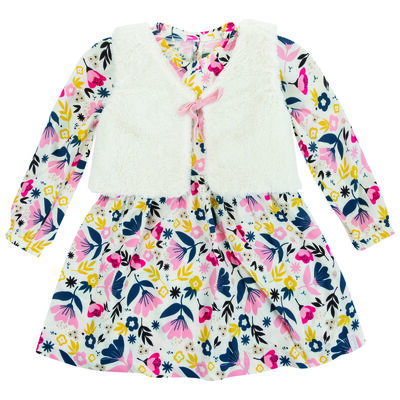 Baby Girls Tia Dress & Gilet