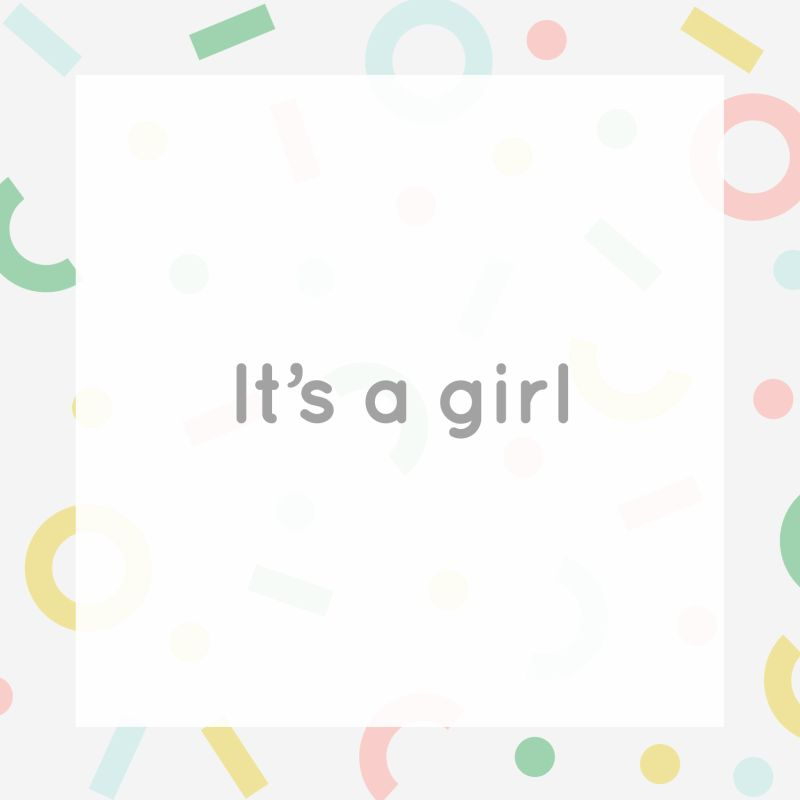 Gift Card - It's a Girl -